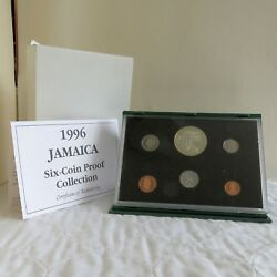 Jamaica 1996 6 Coin Proof Set With Silver - Sealed/complete - Mintage 500