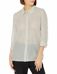 Theory Women's Classic Straight Button Down Shirt - Choose Sz/color