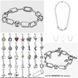 Pandora Me Collection Link Bracelets Chain Charms 925 Sterling Silver