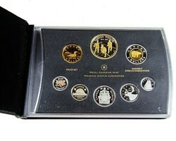 2012 8-piece Fine Silver Proof Set - 200th Anniversary Of The War Of 1812 - Rcm