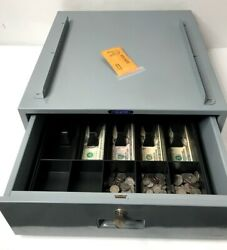 Mmf Industries Under Counter Cash Drawer With 5 Bill 5 Coin Tray 225-1012-01