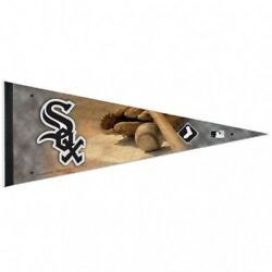 Mlb Chicago White Sox Wincraft Premium 12 X 30 Roll It And Go Felt Pennant New