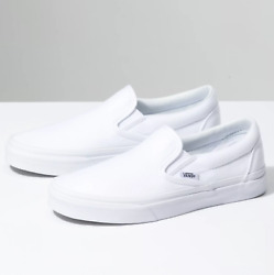 Slip-on True White Canvas Classic Shoes Fast Shipping