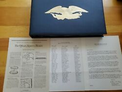 Franklin Mint Official Signers Medals 1st Edition Sterling Silver 58.2 Ounces