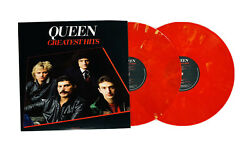 Queen Greatest Hits I Limited Target Exclusive Ruby Blend Vinyl 2LP Record Set