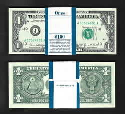 1969d 1 Fdr == Complete Original Pack == 100 Face Value = Choice New