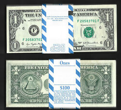 1977 1 Fdr == Complete Original Pack == 100 Face Value = Choice New