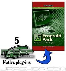 Mcdsp Upgrade Any 5 Native Plug-ins To Emerald Pack Native V5 Edelivery Jrr Shop