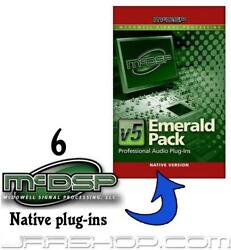 Mcdsp Upgrade Any 6 Native Plug-ins To Emerald Pack Native V5 Edelivery Jrr Shop