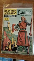 Ivanhoe Classics Illustrated, 2 By Walter Scott Excellent Condition
