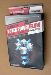 New Nos Votex Power Flow Obx R Racing Sports 10193 Performance Throttle Spacer