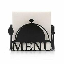 Paper Napkin Holder For Kitchen Tables And Counter Tops Black Galvanized