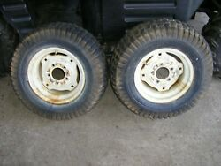 Simplicity Allis Chalmers Rear Wheels And Tires 23 X 10.50-12  7116 Tractor