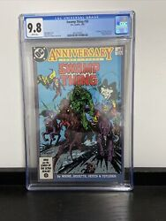 Swamp Thing 50 Cgc 9.8 White Pages 1st Appearance Justice League Dark