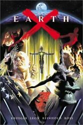Earth X Graphitti Designs Limited Signature Edition W/ Cd By Alex Ross Excellent