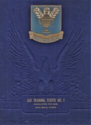 Wwii Army Air Force Training Center Headquarters Personnel Book - Miami Beach Fl