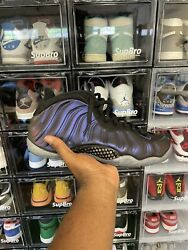 Size 10.5 - Nike Air Foamposite One Eggplant 2017 Pre-owned No Box 8.5/10