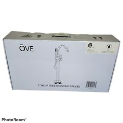 Ove Decors Athena Freestanding Faucet For Any Freestanding Tub Basin Sink Chrome