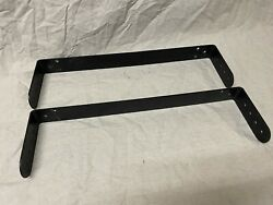 Pair Used Community Yoke Mount Bracket For Cpl27 Mounts Dual 8 To Wall/ceiling
