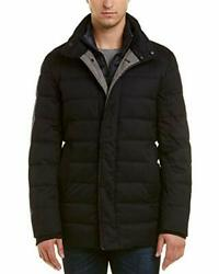 Cole Haan Menand039s Quilted Jacket With Light Weight B - Choose Sz/color