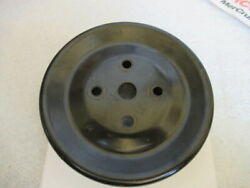 P2a Mercury Quicksilver 807729 Water Pump Pulley Oem Used Factory Boat Parts