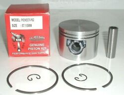 Pioneer P62, P61, P60 Piston Kit, 57.15mm, Replaces Part 476208, New Usa Ship