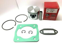 Pioneer P62, P61, P60 Piston Kit, 57.15mm With Cylinder Exhaust Gaskets Usa Ship