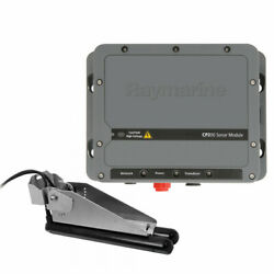 Raymarine Cp200 Chirp/sidevision Sonar Module/cpt-200 Sidevision Transom Trans