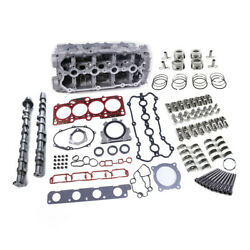 2.0t Cylinder Headandcamshafts Andhead Gasket And Piston Kit Fit For Vw Jetta Audi