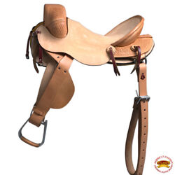 C-z-15 15 In Horse Bronc Saddle Hilason Classic Series Rodeo American Leather