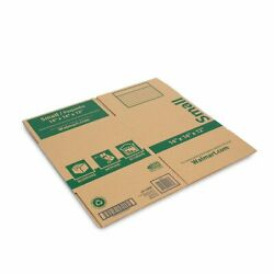 Small Recycled Moving Boxes 14l X 14w X 12h Made From Durable Paper Fiber