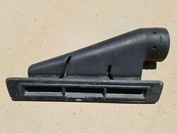1972-1974 Challenger Barracuda Cuda E Body Rear Defrost Duct And Bezel