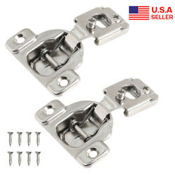 Compact Concealed Kitchen Cabinet Door Hinge Euro 105anddeg Self Close 1/2 Overlay