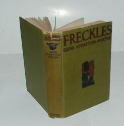 Rare 1904 1st Edition Freckles By Gene Stratton-porter And E. Stetson Crawford