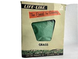 Vintage Life- Like Scenery Grass Factory Sealed For Model Trains 16 Oz