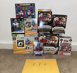 Nfl Trading Card Loaded Mystery Pack Selectprizm Optic Illusions And More