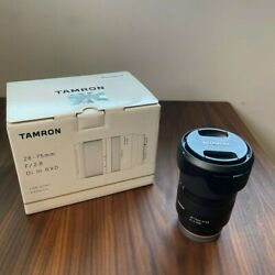 Tamron 28-75mm F/2.8 - One Owner - Includes Box And Manual - Ships Same Day