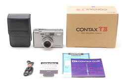 【top Mint Boxed】contax T3 D 35mm Point And Shoot Film Camera From Japan