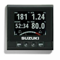 New 2 Oem 990c0-01c10 Suzuki Multifunction Lcd Color Gauges With Covers