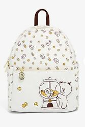 Line Friends Brown And Friends Gumball Mini Backpack And Card Holder By Bt21 Creato