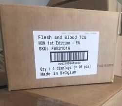 Flesh And Blood - Sealed Monarch First Edition Booster Case