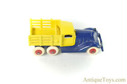 Hubley Cast Iron Stake Truck