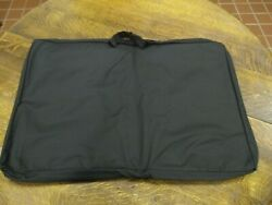 Padded Carrying Bag Portable Showcase Fits Cases Up To 34x22x4 Made In Usa New