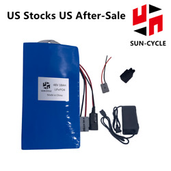 48v 18ah Ebike Battery Lifepo4 Lithium Charger Bms Electric Bicycle Motor 1000wh