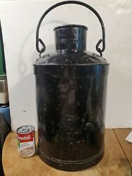 Antique Philips Petroleum Co. 10 Gallon Oil Or Gas Can / Milk Can Size