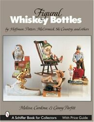 Figural Whiskey Bottles By Hoffman, Potters, Mccormick, By Melissa New