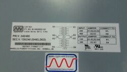 Marelco Power System M16928se12p Transformer New In Box