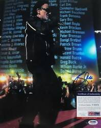 Psa/dna Appraised The Real Thing Bono U2 Autograph