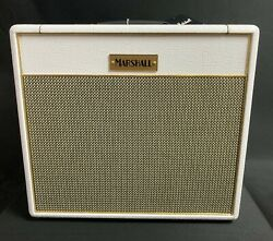 Marshall Sv20cwh Limited Studio Vintage Plexi 20w Guitar Amp Combo White