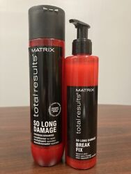 Matrix Total Results So Long Damage Leave In Elixir And Conditioner Duo